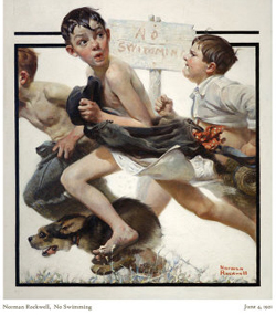 norman-rockwell-no-swimming
