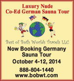 Germany Sauna Tour